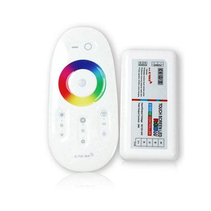 Εικόνα της Ασύρματο RGB Λευκό Controller Αφής με Dimmer για ταινία Led 288w