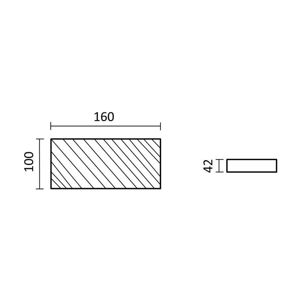 Εικόνα της Τροφοδοτικό LED 100Watt 12V 8.3A Σταθεροποιημένο