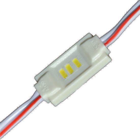 Εικόνα της LED MODULE 3 3014 DC12V 120° 0.36W IP65 Κόκκινο