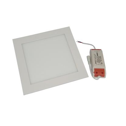 Εικόνα της Φωτιστικό οροφής τετράγωνο panel Led χωνευτό 3watt Φυσικό λευκό