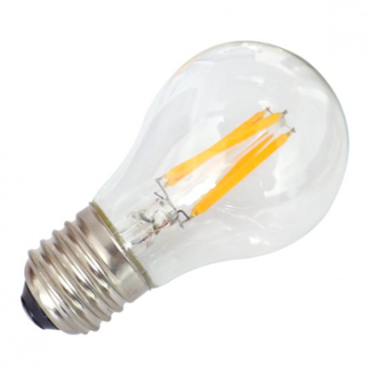 Εικόνα της Filament E27 Λάμπα Led A60 5W 600Lm Φυσικό λευκό
