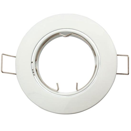 Εικόνα της Βάση Σποτ MR16 Στρογγυλό Κινητό Λευκό