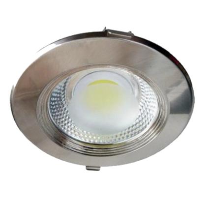 Εικόνα της Φωτιστικό Inox Led COB στρογγυλό 15watt Ψυχρό λευκό