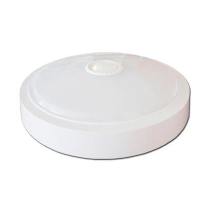 Εικόνα της LED Πλαφονιέρα 15W Στρογγυλή Με Ανιχνευτή Κίνησης Θερμό Λευκό