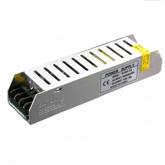 Εικόνα της Τροφοδοτικό Slim LED 60Watt 24V 2.5A Σταθεροποιημένο