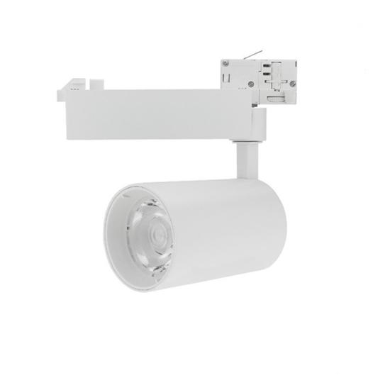 Εικόνα της Led Φωτιστικό Ράγας Λευκό 25watt 4000K Φυσικό Λευκό