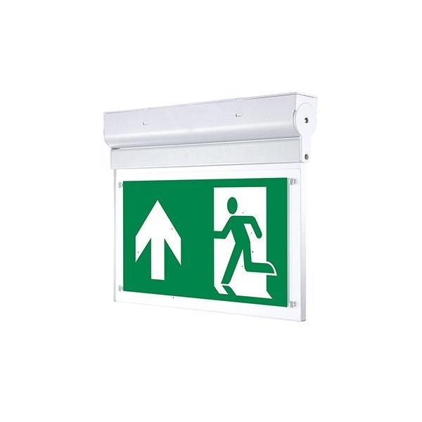 Εικόνα της LED Φωτιστικό Ασφαλείας Οροφής ή Επιτοίχιο 2W με Ρυθμιζόμενη Γωνία