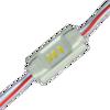 Εικόνα της LED MODULE 3 3014 DC12V 120° 0.36W IP65 Μπλε