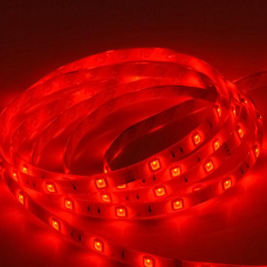 Εικόνα της Ταινία led strip Professional IP20 4.8 watt με 60 led 3528 smd ανα μέτρο Κόκκινη