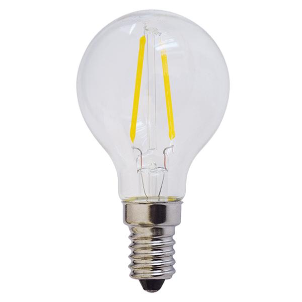 Εικόνα της Filament E14 Λάμπα Led G45 2W 200Lm Θερμό λευκό