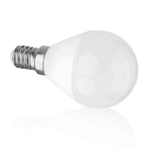 Εικόνα της Λάμπα Led Σφαιρική G45 Ε14 6Watt Θερμό λευκό
