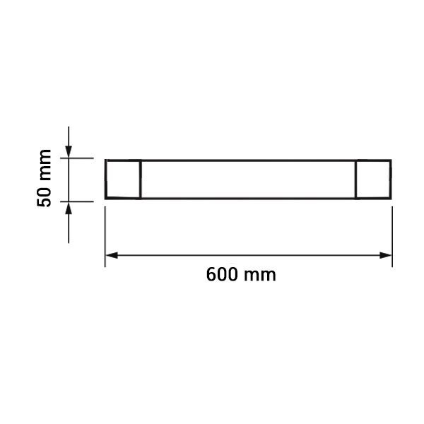 Εικόνα της Led Φωτιστικό Γραμμικό IP65 60CM 20W 4000K