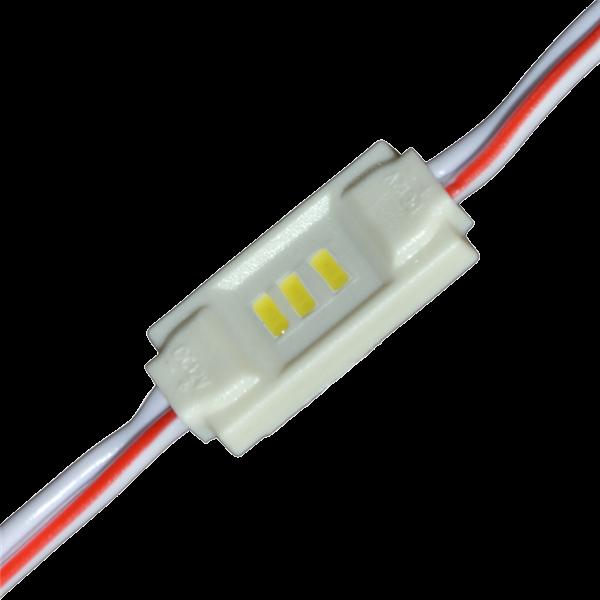 Εικόνα της LED MODULE 3 3014 DC12V 120° 0.36W IP65 6500K