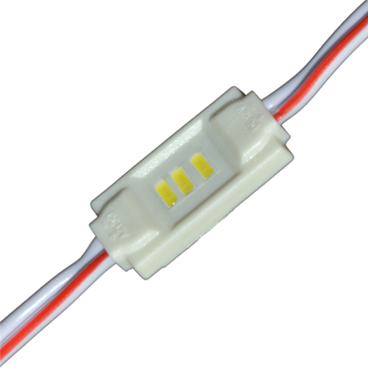 Εικόνα της LED MODULE 3 3014 DC12V 120° 0.36W IP65 6500K