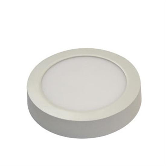 Εικόνα της Led Panel στρογγυλό εξωτερικό 6watt Φυσικό λευκό
