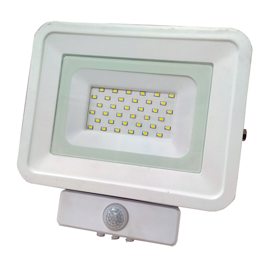 Εικόνα της LED Προβολέας SMD 20 Watt  Classic Line2 με Ανιχνευτή Κίνησης Ψυχρό Λευκό