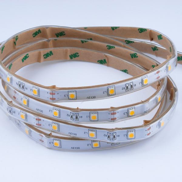 Εικόνα της Ταινία led strip IP54 7.2 watt με 30 led 5050 smd ανα μέτρο Ψυχρό λευκό
