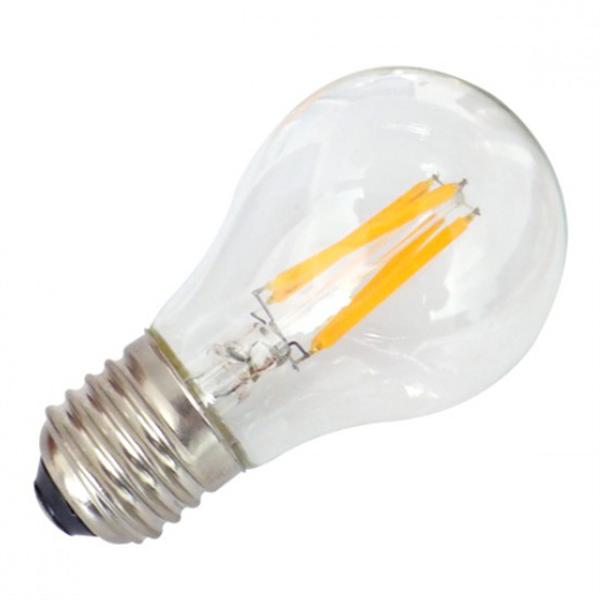 Εικόνα της Filament E27 Λάμπα Led A60 4W 400Lm Θερμό λευκό