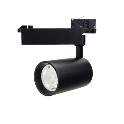 Εικόνα της Led Φωτιστικό Ράγας Μαύρο 25watt 4000K Φυσικό Λευκό