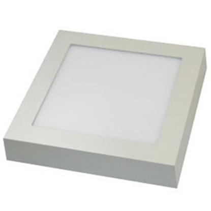 Εικόνα της Led Panel τετράγωνο εξωτερικό 18watt Θερμό λευκό