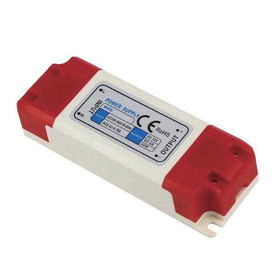 Εικόνα της Τροφοδοτικό LED Πλαστικό 36Watt 24V 1.5A Σταθεροποιημένο 110-220V/AC