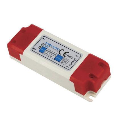 Εικόνα της Τροφοδοτικό LED Πλαστικό 60Watt 24V 2.5A Σταθεροποιημένο 110-220V/AC