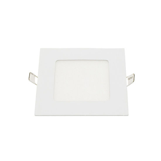 Εικόνα της LED Mini Panel Τετράγωνο Χρωματική Λορίδα 18W Θερμό Λευκό