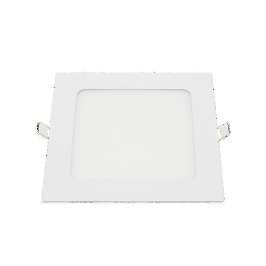 Εικόνα της LED Μικρο Πανελ Τετραγωνο Οικιακη Χρηση 3W Φυσικο Λευκο