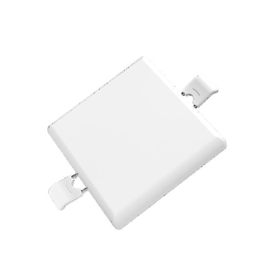 Εικόνα της LED Panel Χωρίς Πλαίσιο Τετράγωνο 9W Θερμό Λευκό