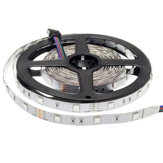 Εικόνα της Ταινία led 5050 12V Μη Αδιάβροχη Eπαγγελματικής Χρήσης 7.2W/m RGB