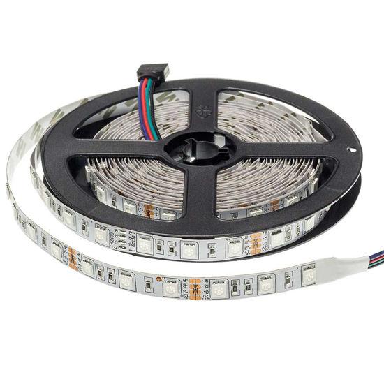 Εικόνα της Ταινία led 5050 12V Μη Αδιαβροχη Eπαγγελματικης Χρήσης 14.4W/m RGB