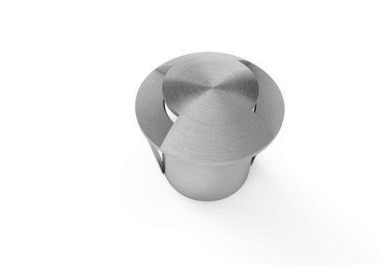 Εικόνα της Φωτιστικο Δαπεδου Ανοξειδωτο 1.3W 2 Δεσμες Θερμο Λευκο