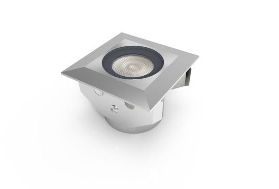 Εικόνα της WH Φωτιστικό Δαπέδου Ελαφριά Σκίαση 1.3W Ψυχρό Λευκό
