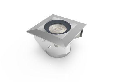 Εικόνα της WH Φωτιστικό Δαπέδου Ελαφριά Σκίαση 1.3W Θερμό Λευκό
