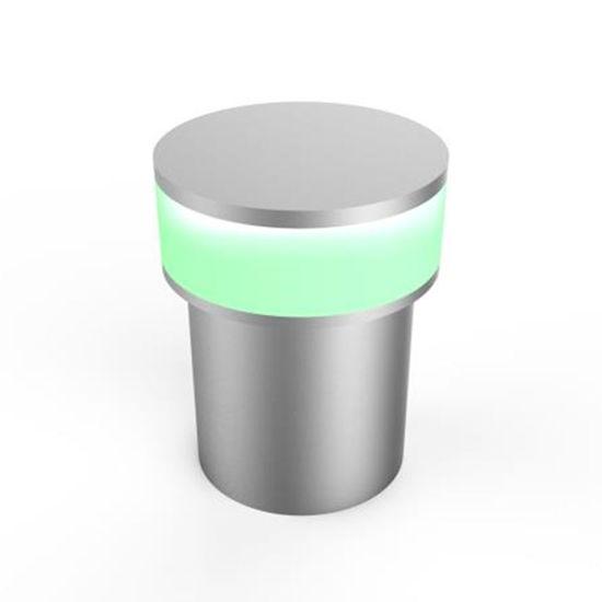 Εικόνα της Ισχυρό Φωτιστικό Τοίχου LED 1,3W Πράσινο
