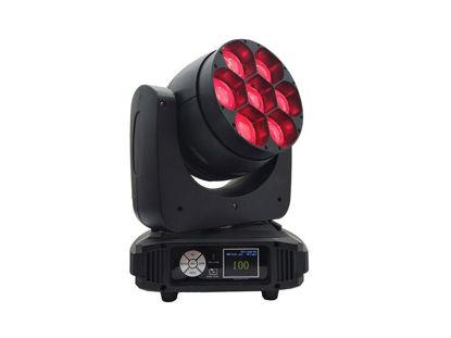 Εικόνα της 7x40 LED Κινούμενη Κεφαλή RGBW Mixing Color 320W RGB