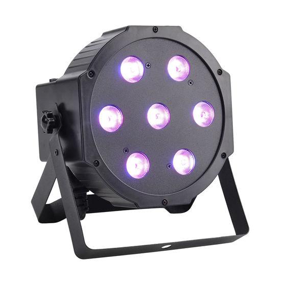 Εικόνα της 7*10W Mini RGBW LED PAR Light 70W RGBW