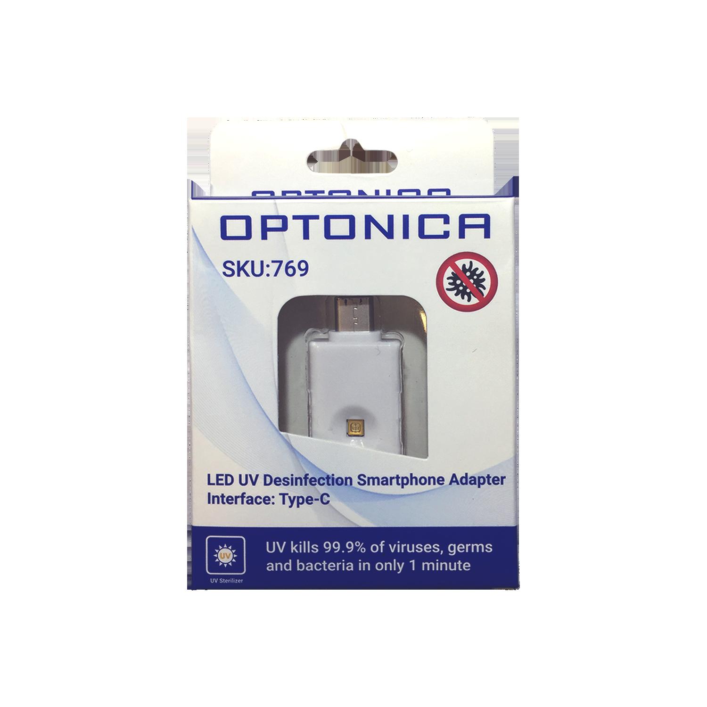 Εικόνα της Led UV Αντάπτορας Απολύμανσης για Smartphone Type-C