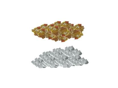 Εικόνα της Μεταλλικό Κομφετί-Ασήμι Χρυσό Κόκκινο Πράσινο Μπλέ
