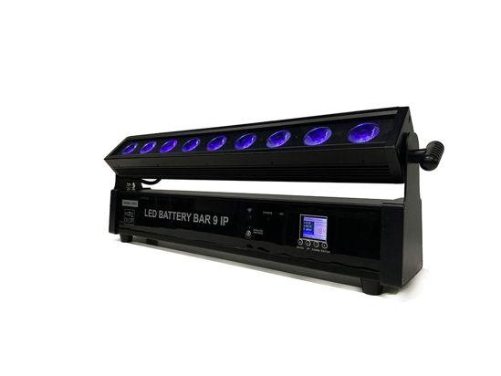 Εικόνα της 9 * 10W Wifi Control Αδιάβροχο RGBA + UV 6 σε 1 RGB