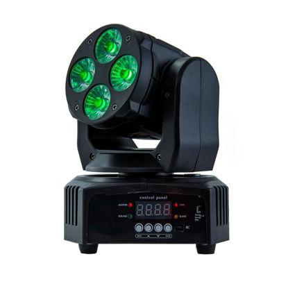 Εικόνα της Κινούμενη κεφαλή LED 4 * 12W RGBW 4in1