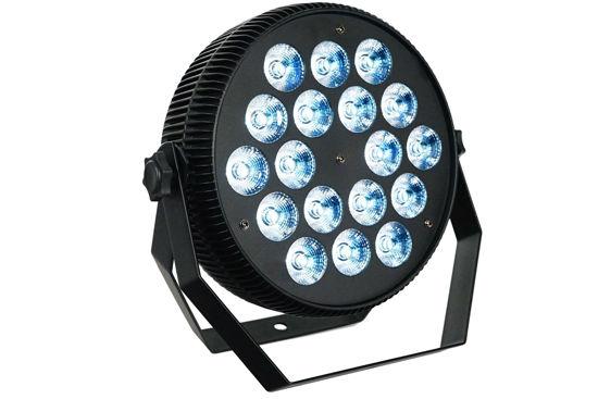 Εικόνα της 18*10W Επιπεδο Αλουμινιου LED PAR 180W RGB