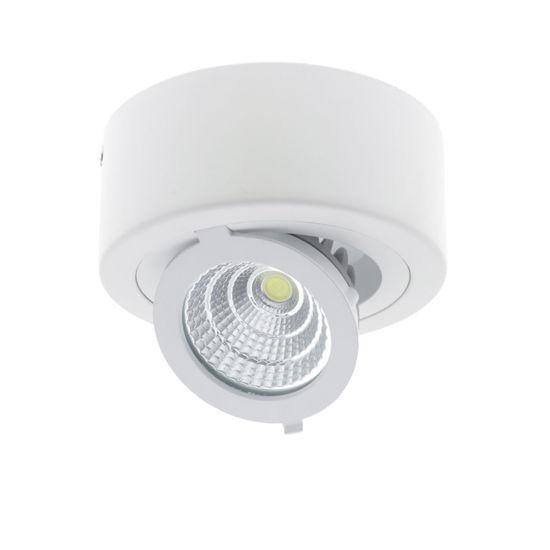 Εικόνα της LED COB Επιφανειακο Σποτ Στρογγυλο Ρυθμιζομενο 12W Ψυχρο Λευκο