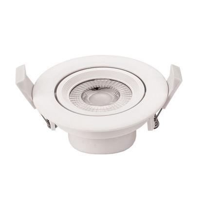 Εικόνα της LED COB Downlight Στρογγυλό Περιστρεφόμενο 5W Ψυχρό Λευκό