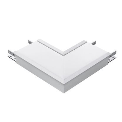 Εικόνα της Σύνδεση Σχήματος-LΛευκό 8W Φυσικό Λευκό