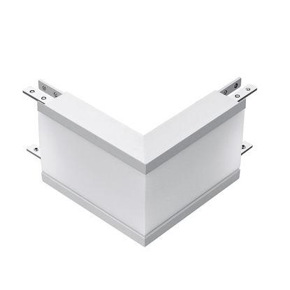 Εικόνα της Σύνδεση Σχήματος-L Λευκό 8W Φυσικό Λευκό