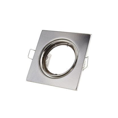 Εικόνα της Τετράγωνο Ring Ρυθμιζόμενο G5.3 Inox