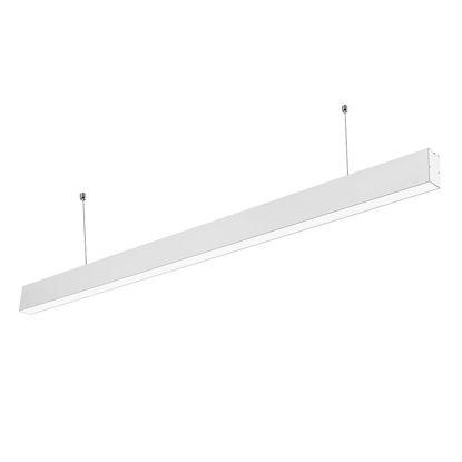 Εικόνα της LED Linear Κρεμαστό Φωτιστικό Λευκό 40W Φυσικό Λευκό