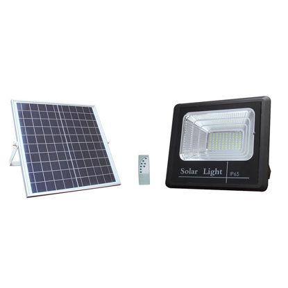 Εικόνα της LED Ηλιακός Προβολέας + Φωτοβολταϊκό Πάνελ EQUIV. 20W Ψυχρό Λευκό