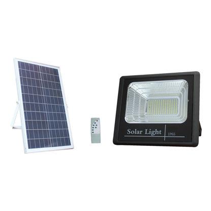 Εικόνα της LED Ηλιακός Προβολέας + Φωτοβολταϊκό Πάνελ EQUIV. 35W Ψυχρό Λευκό